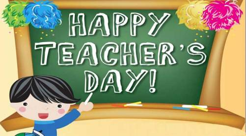 Happy Teacher's Day!