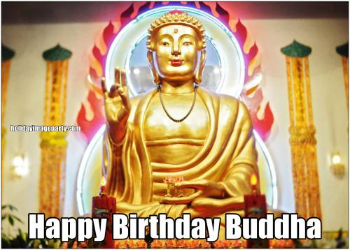 Happy Birthday Buddha