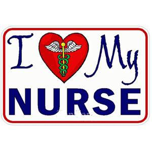 I love my nurse