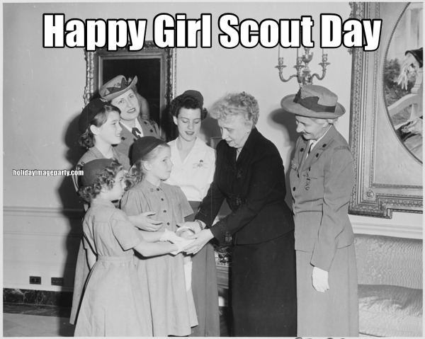 Happy Girl Scout Day