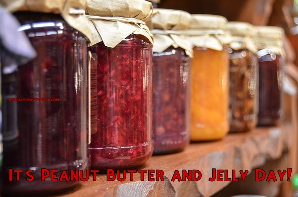 It's Peanut Butter and Jelly Day!