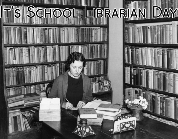 It's School Librarian Day