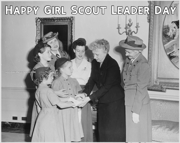 Happy Girl Scout Leader Day