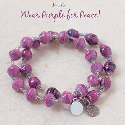 May 16 Wear Purple For Peace Day