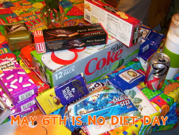 May 6th is No Diet Day