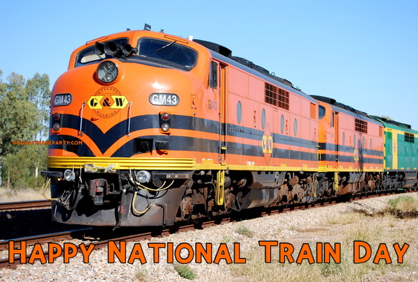 Happy National Train Day