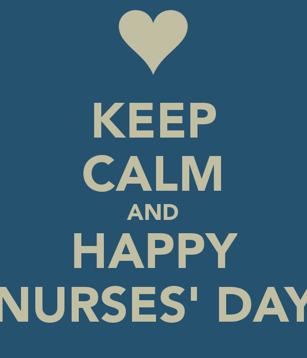 keep calm and happy Nurses Day