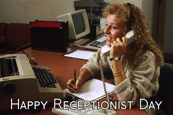 Happy Receptionist Day