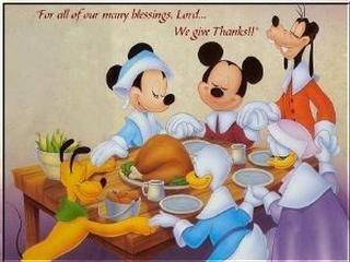 For all of our many blessings Lord... We give thanks!