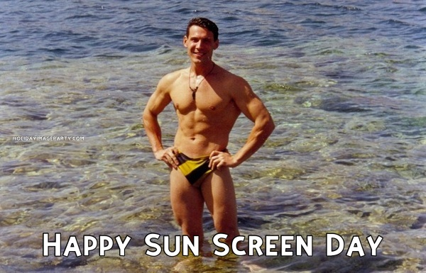 Happy Sun Screen Day