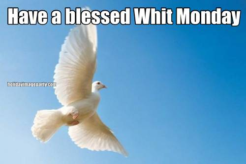 Have a blessed Whit Monday
