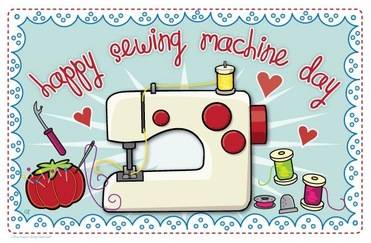 Happy Sewing Machine Day