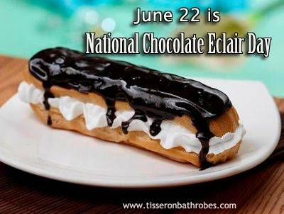 June 22 is National Chocolate Eclair Day