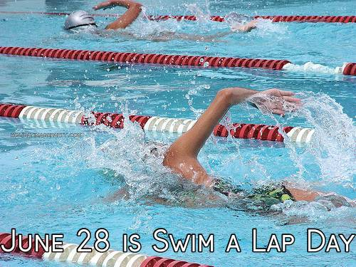 June 28 is Swim a Lap Day