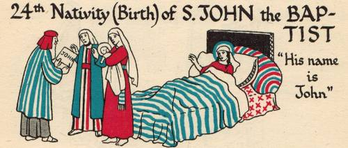 24th Nativity of St. John the Baptist