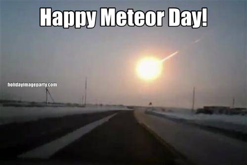 Happy Meteor Day!