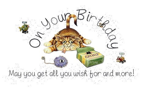 On your birthday may you get all you wish for and more
