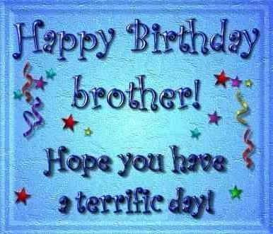 Happy Birthday brother!