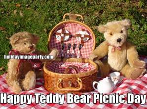Happy Teddy Bear Picnic Day