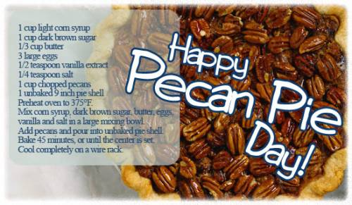 Happy Pecan Pie Day