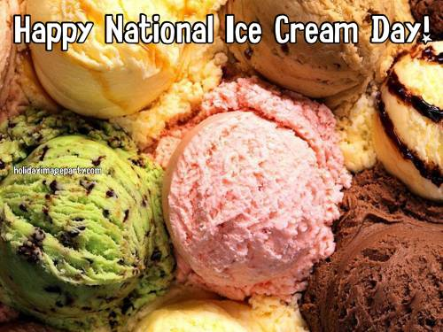 Happy National Ice Cream Day!