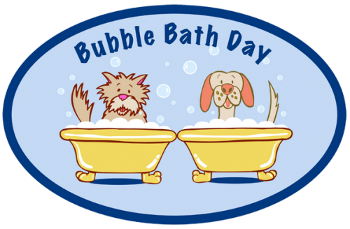 Bubble Bath Day