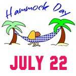 Hammock Day July 22