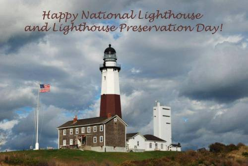 Happy National Lighthouse and Lighthouse Preservation Day!