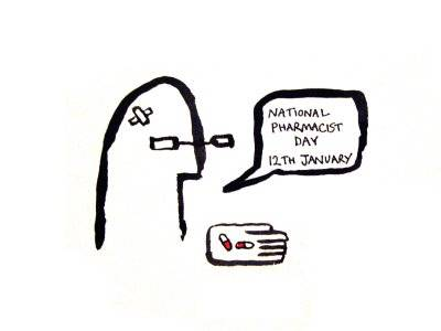 National Pharmacist Day  12th January