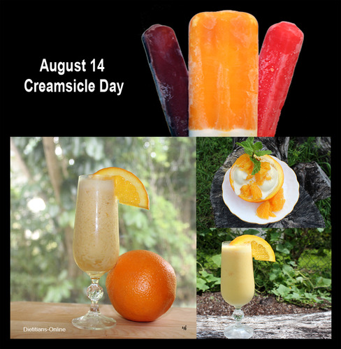 August 14 Creamsicle Day