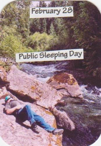 Public Sleeping Day
