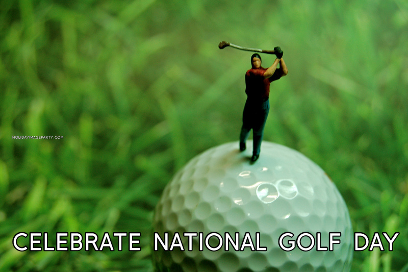 celebrate national golf day