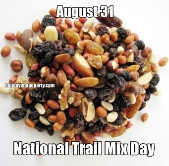 August 31 National Trail Mix Day