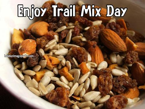 Enjoy Trail Mix Day