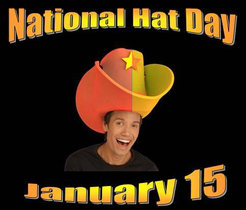 National Hat Day January 15