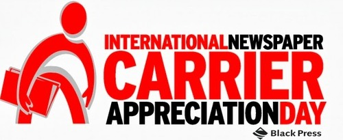International Newspaper Carrier Appreciation Day