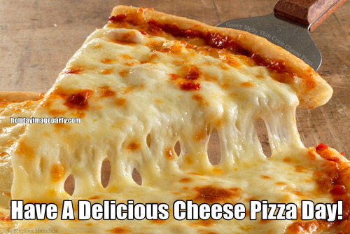 Have A Delicious Cheese Pizza Day!