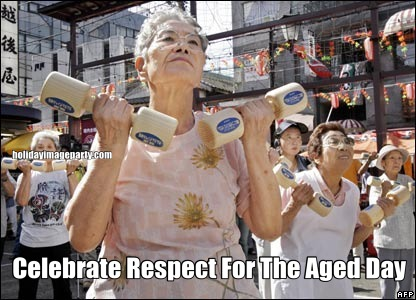 Celebrate Respect For The Aged Day