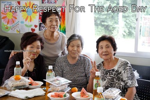 Happy Respect For The Aged Day