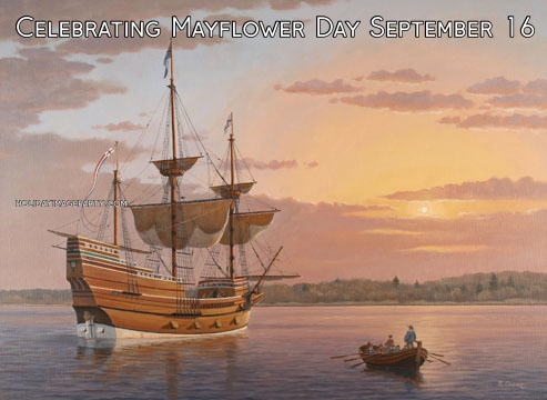 Celebrating Mayflower Day September 16