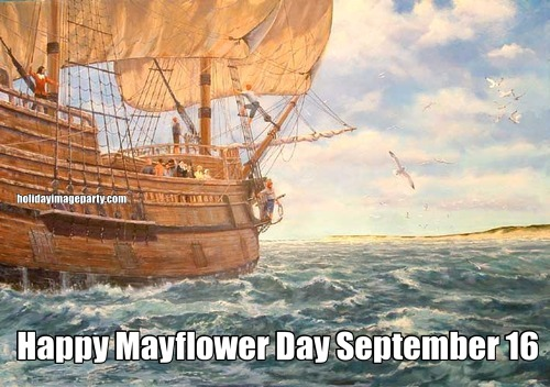 Happy Mayflower Day September 16