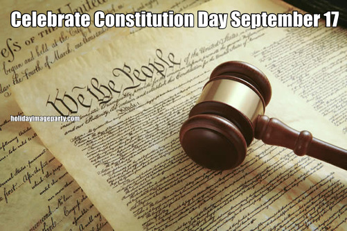 Celebrate Constitution Day September 17