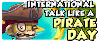 International Talk Like A Pirate Day