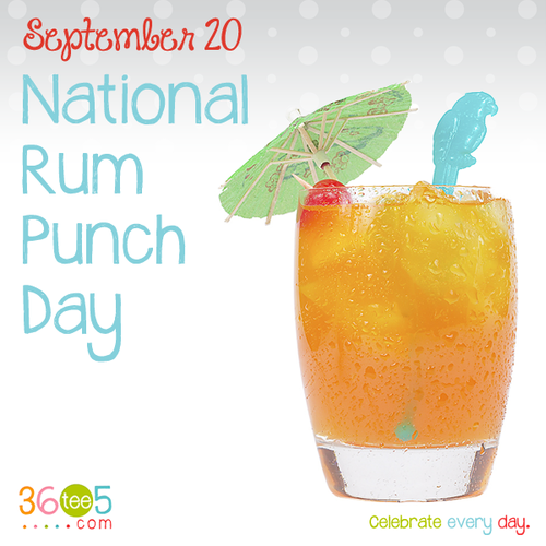 September 20 National Rum Punch Day