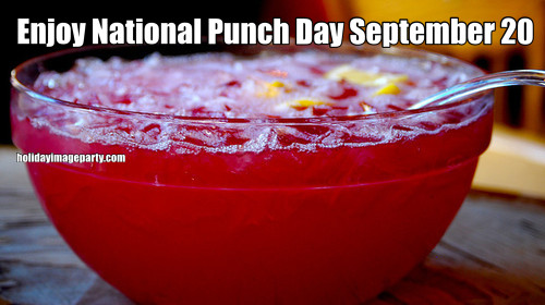 Enjoy National Punch Day September 20