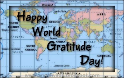 Happy World Gratitude Day