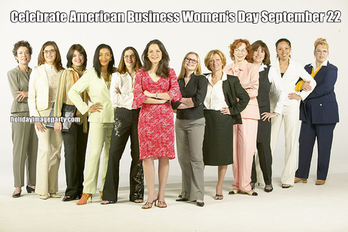 Celebrate American Business Women's Day September 22