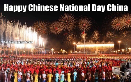 Happy Chinese National Day China