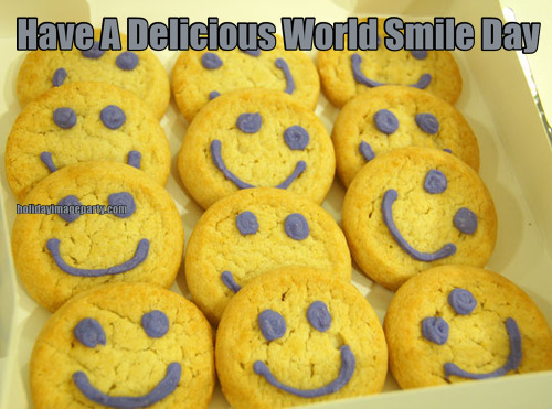 Have A Delicious World Smile Day