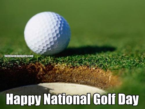 Happy National Golf Day